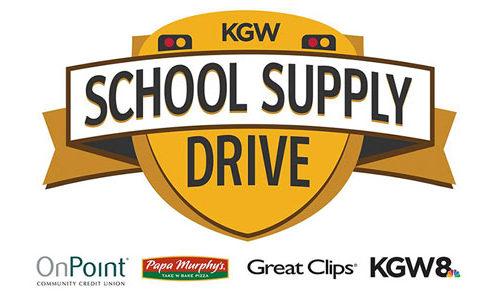 KGW School Supply Drive - Isler NW