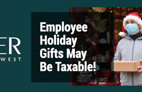 Employee Holiday Gifts May Be Taxable!