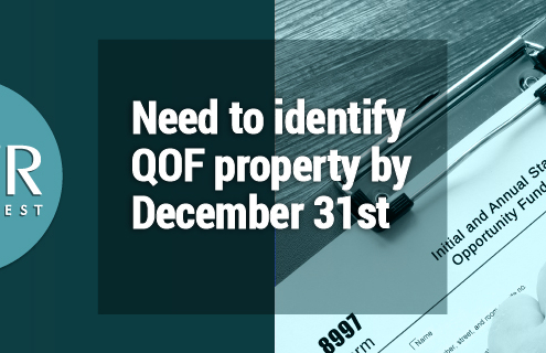 Need to identify QOF property by December 31st