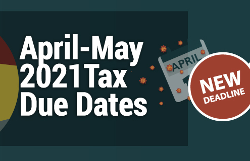 April-May 2021Tax Due Dates